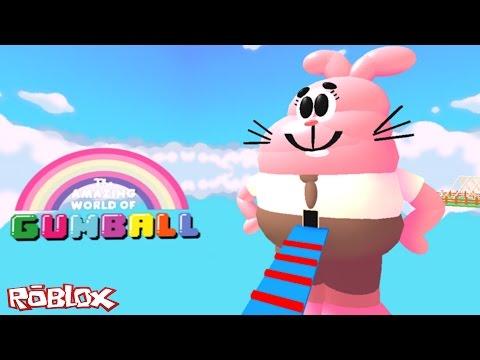 Roblox – PARKOUR NO MUNDO GUMBALL