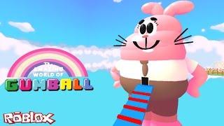 Roblox - PARKOUR NO MUNDO GUMBALL #VídeoExtra