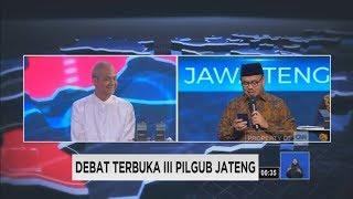 Debat Final Pilgub Jateng Segmen 4: Ganjar Pranowo & Sudirman Said Bicara Soal Keluhan Warga