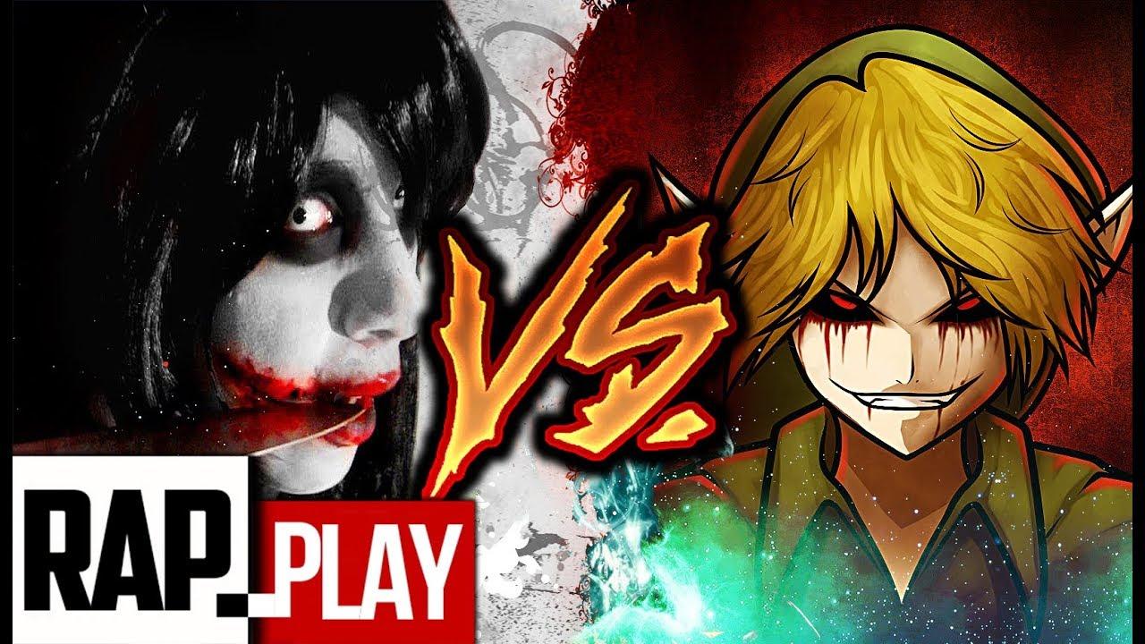 JEFF THE KILLER  VS BEN DROWNED RAP | KRONNO & CYCLO | ( Videoclip Oficial )