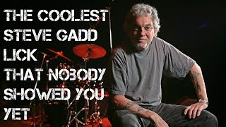 Coolest Steve Gadd Lick That Nobody Showed You Yet! w/ Beatdown Brown