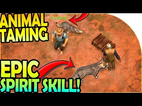 TAMING ANIMALS to FIGHT FOR US! - SPIRIT SKILL is *EPIC* ( Westland Survival Gameplay )