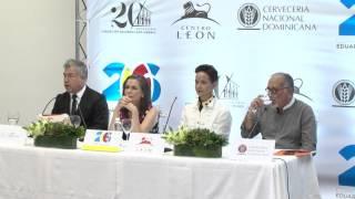 Centro León. Rueda de prensa 26 Concurso de Arte Eduardo León Jimenes