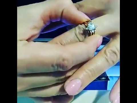 Кольцо трансформер от Амурского ювелирного завода