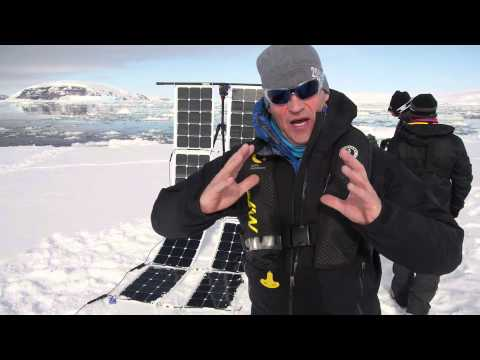 First Antarctic test by Robert Swan and 2041.com. Part 1