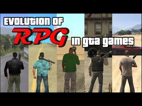 Evolution Of RPG In ALL GTA Games (GTA 1 Vs 2 Vs 3 Vs VC Vs SA Vs IV Vs V)