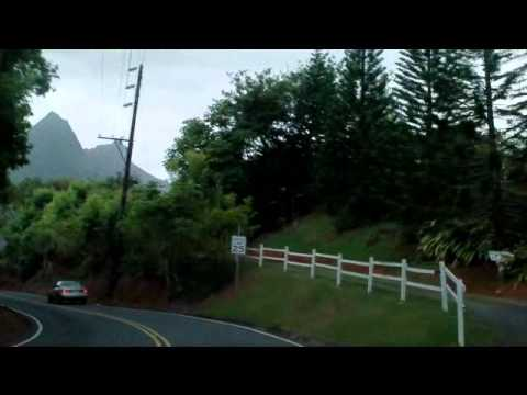 Riding Past Diamond Head Crater and Waianae Volcano