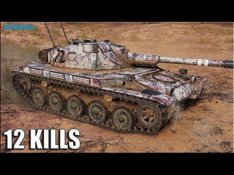 Колобанов на ЁЛКЕ ✅ World Of Tanks AMX ELC Bis