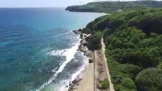 Túnel Guajataca en Puerto Rico (desde el aire)
