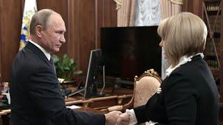 ЦИК выбирает клиентов для Путина
