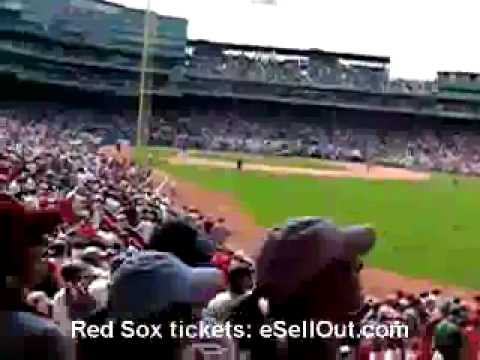 Red Sox Nation singing Sweet Caroline