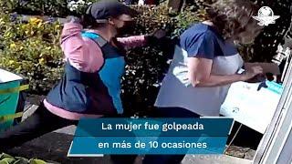 La repartidora de Amazon fue arrestada por agredir a la mujer de 67 años de edad
