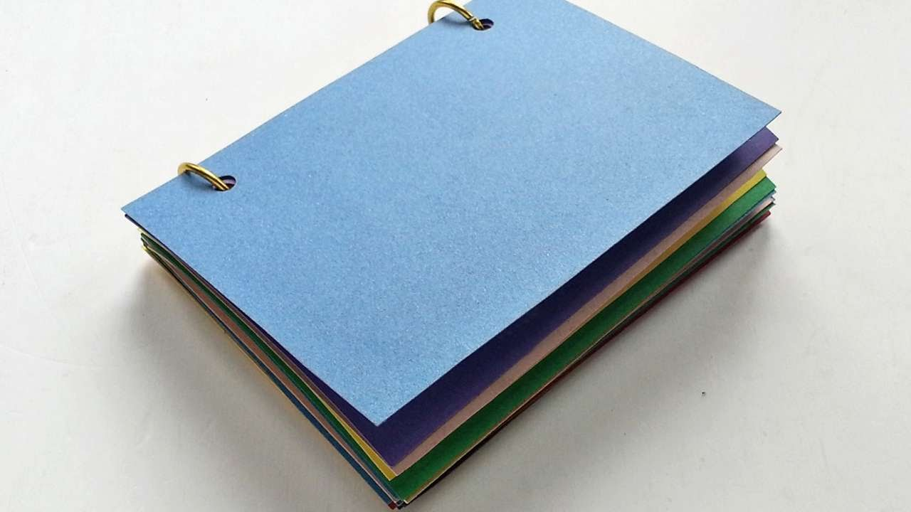 How To Make A Notebook Craft For Kids