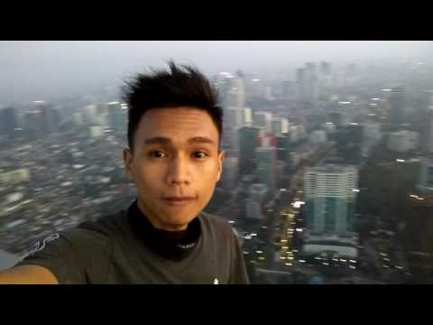 Rooftop 72nd floor Rasuna tower (now Westin Hotel) south jakarta 05.30 AM