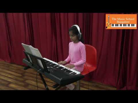 Stranger In Paradise Keyboard Cover by Tapani Sucheth - The Music School Bangalore