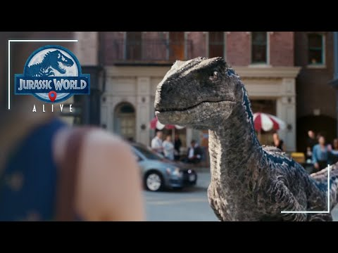 Jurassic World Alive – Official Game Trailer