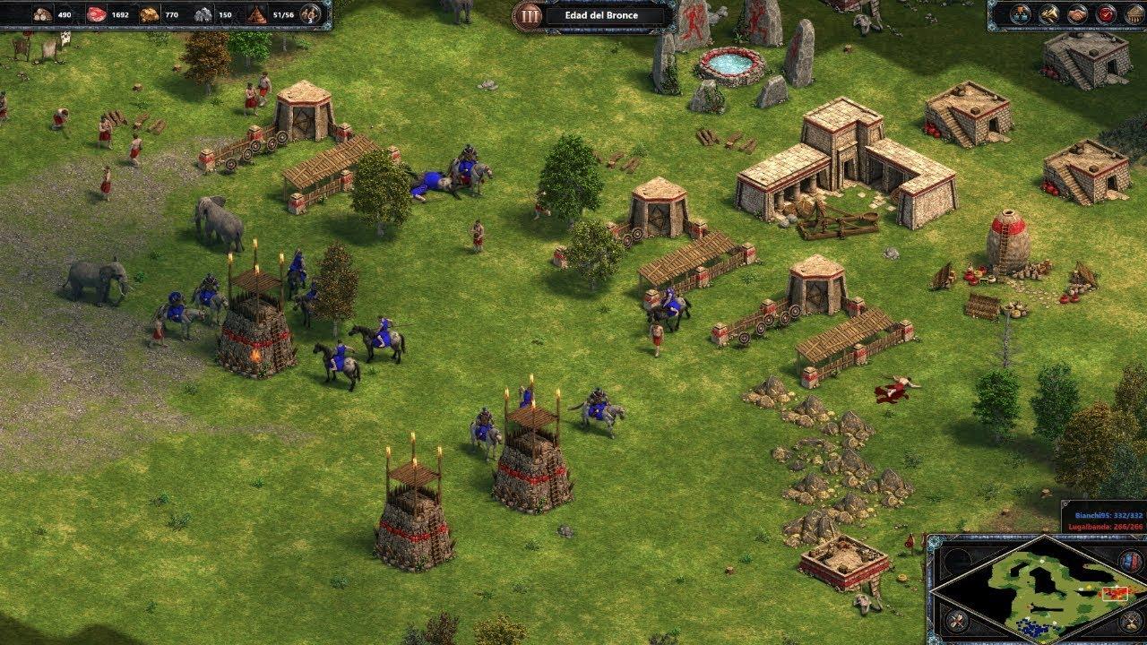 Age Of Empires 1 Definitive Edition Esta Genial 1 Impresion Youtube