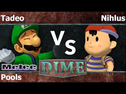 DIME 19 - Tadeo (Luigi) vs Nihlus (Ness) Pools - Melee