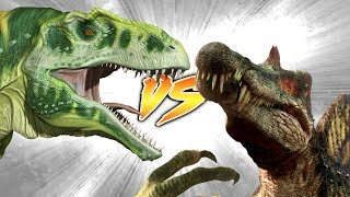 SPINOSAURUS VS ACROCANTHOSAURUS [Who Would Win?]