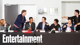 'It- Chapter 2' Releases Last Supper-Style Cast Photo | News Flash | Entertainment Weekly