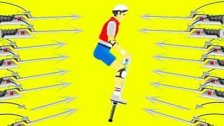 ПОДБОРКА 99,9% НЕВОЗМОЖНЫХ УРОВНЕЙ! ПРОШЕЛ САМЫЕ СЛОЖНЫЕ УРОВНИ В ХЭППИ ВИЛС (Happy Wheels)