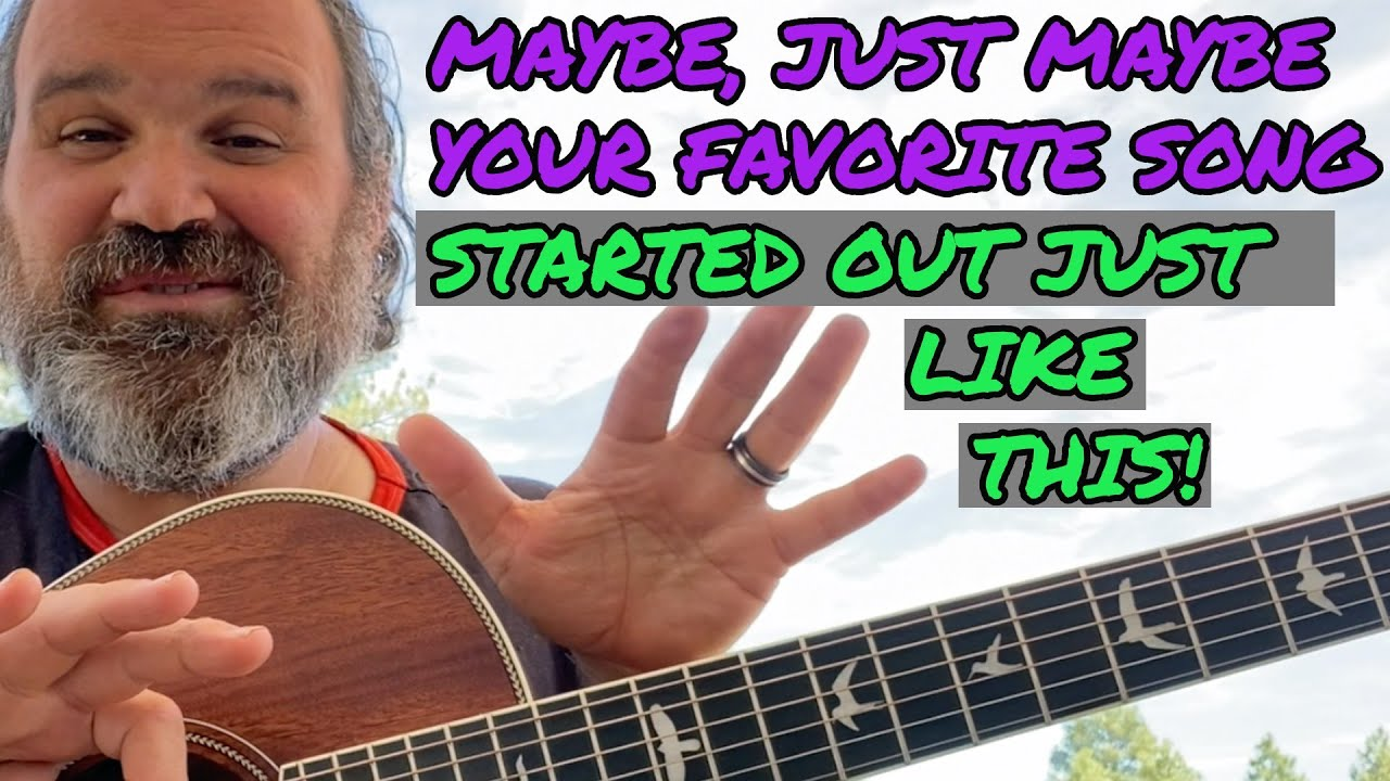 I Think I STOLE This Songwriting Trick From Paul Simon. IT'S WORTH A LOOK. Guitar Fundamentals