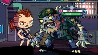 Zombies Ate My Friends - gameplay - boss fighting