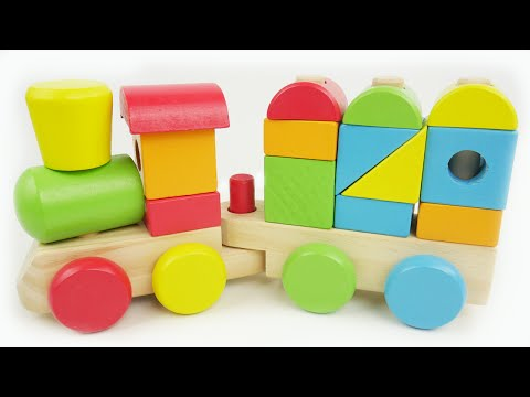 Thumbnail: Learn Colors, Shapes, Counting with Preschool Toy Train Best Learning Video for Kids Compilation!