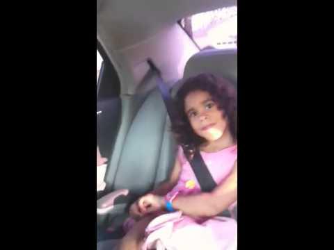Brianna Dancing In Car