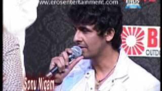Sonu Nigam at Caravan-e-Ghazal concert