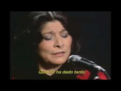 Gracias a la vida - Thank you to life - Mercedes Sosa - lyrics with translation