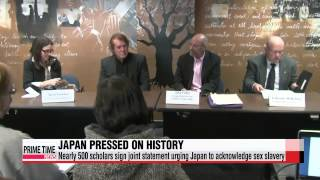 Nearly 500 scholars sign joint statement urging Japan to acknowledge sex slavery