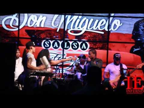Don Miguelo Live at Salsa Con Fuego.