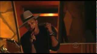 Daft Punk Pharrell Stevie Wonder Grammys HD 2014