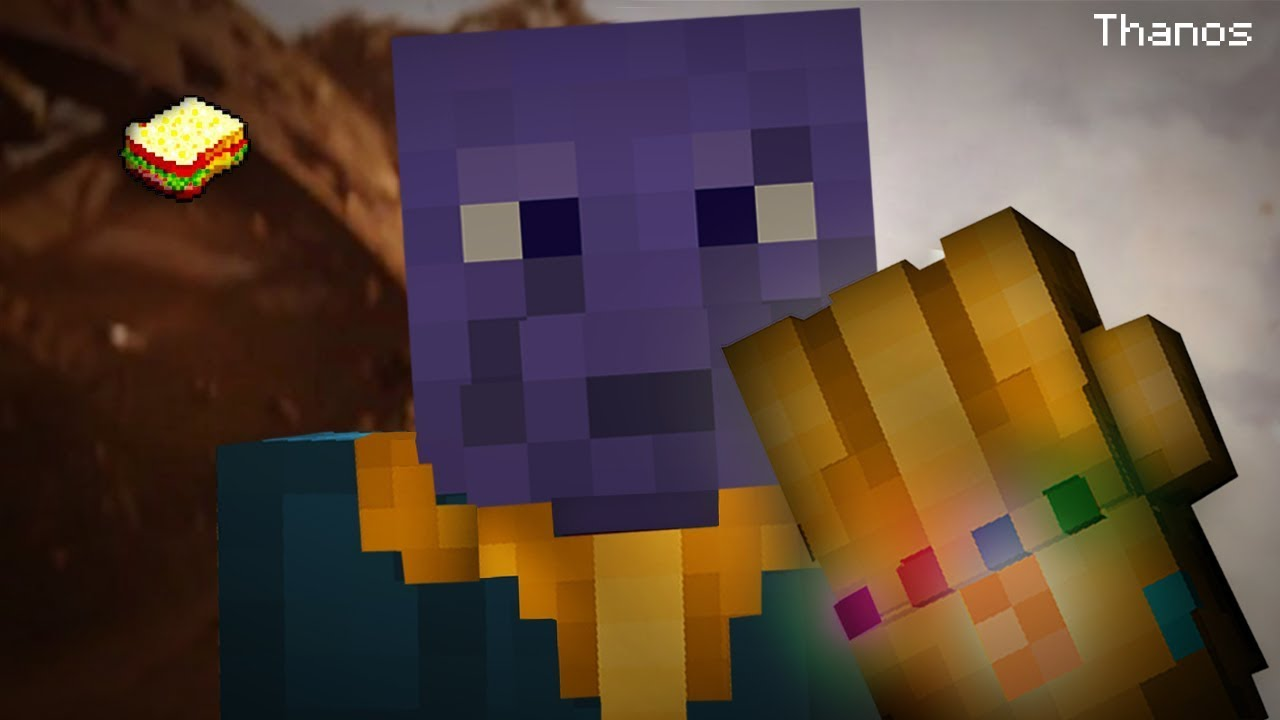 Minecraft  How to make Thanos Outfit
