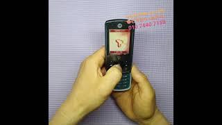 모토로라 칵테일폰(ve70) sk용3g폰 작동영상