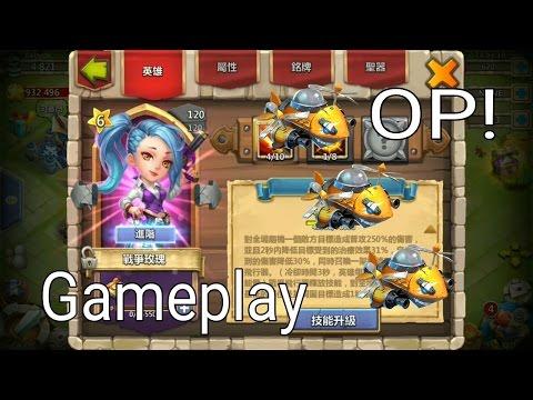 Castle Clash War Rose Gameplay!