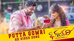 BHARJARI   PUTTA GOWRI SONG VIDEO   DHRUVA SARJA  RACHITHA RAM   CHETHAN   V HARIKRISHNA