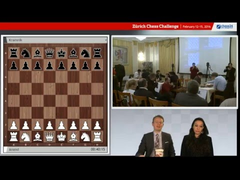 Zurich Chess Challenge Rapid Round 5, live commentary with Fiona and Jan