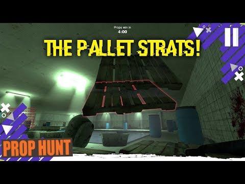 The Pallet Strat (GMOD Prop Hunt)
