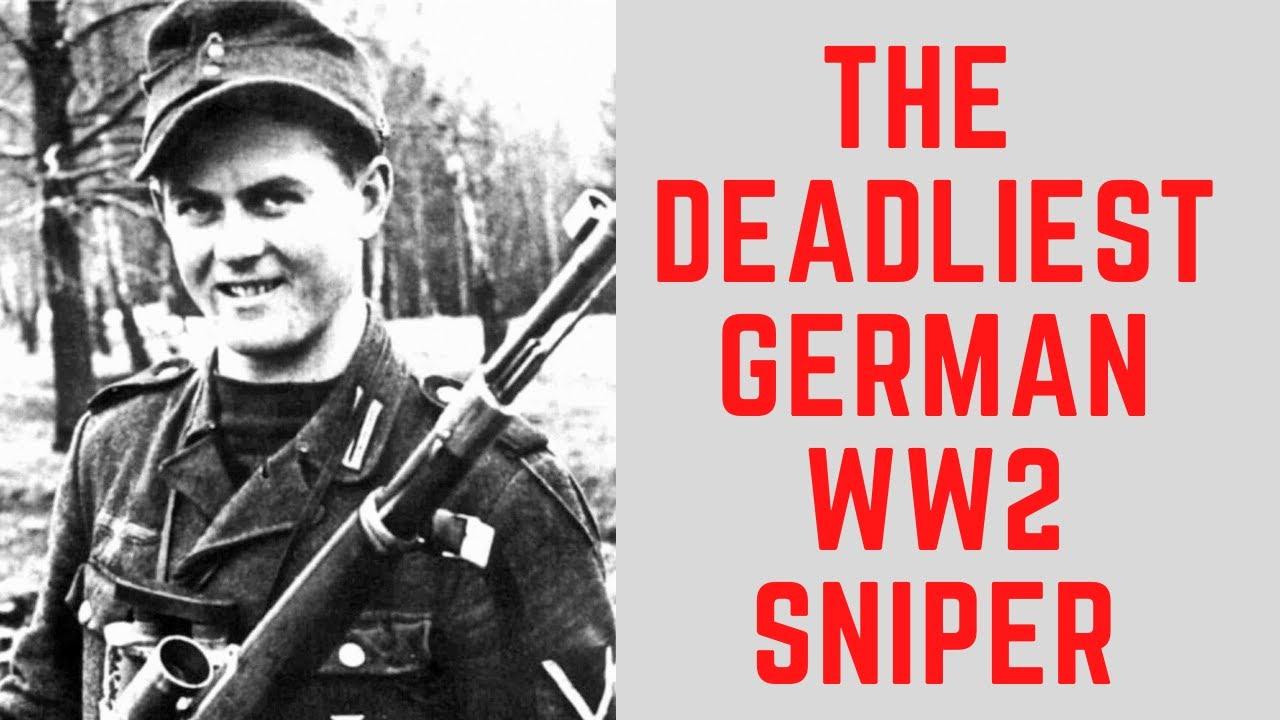 The DEADLIEST German Sniper Of WW2 - Matthäus Hetzenauer