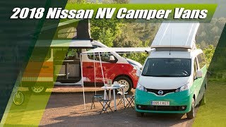 2018 Nissan NV300 and e-NV200 Camper Vans Overview