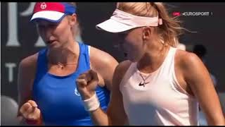 Vesnina  Makarova  Russian  Doubles Women's epic emotions