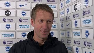Graham Potter lauds 'incredible' Brighton after draw with Chelsea