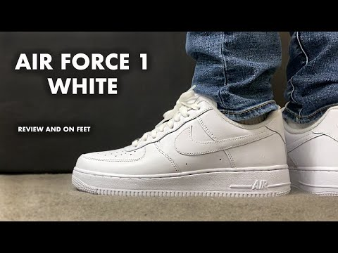 Nike Air Force 1 Low White Review and