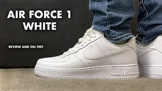 Nike Air Force 1 Low White Review and On Feet