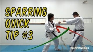 Taekwondo Sparring Quick Tip 3 : Make your back kick works 200% (taekwonwoo)