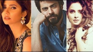 Fawad Khan is threatened by Mahira Khan and Saba Qamar