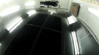 Toyota Camry 50 - ремонт передней части после аварии ч 3