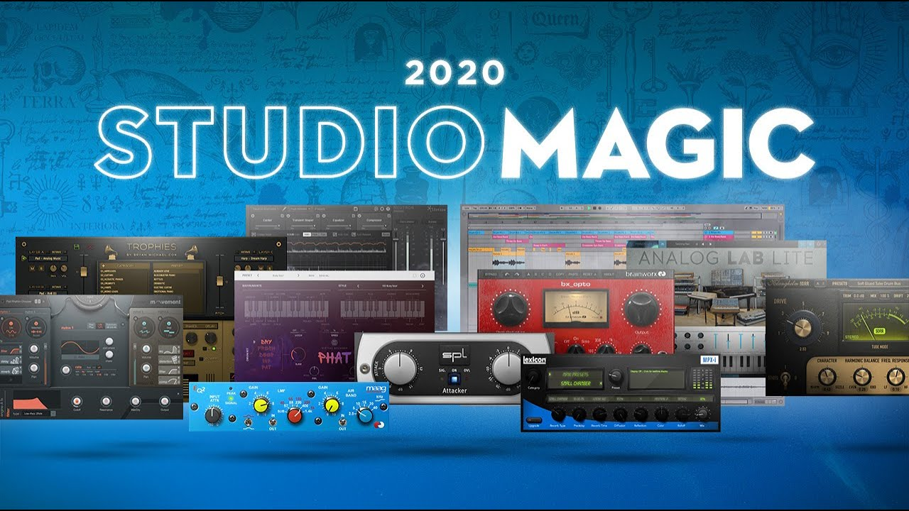 Studio Magic Plug-in Suite Video.